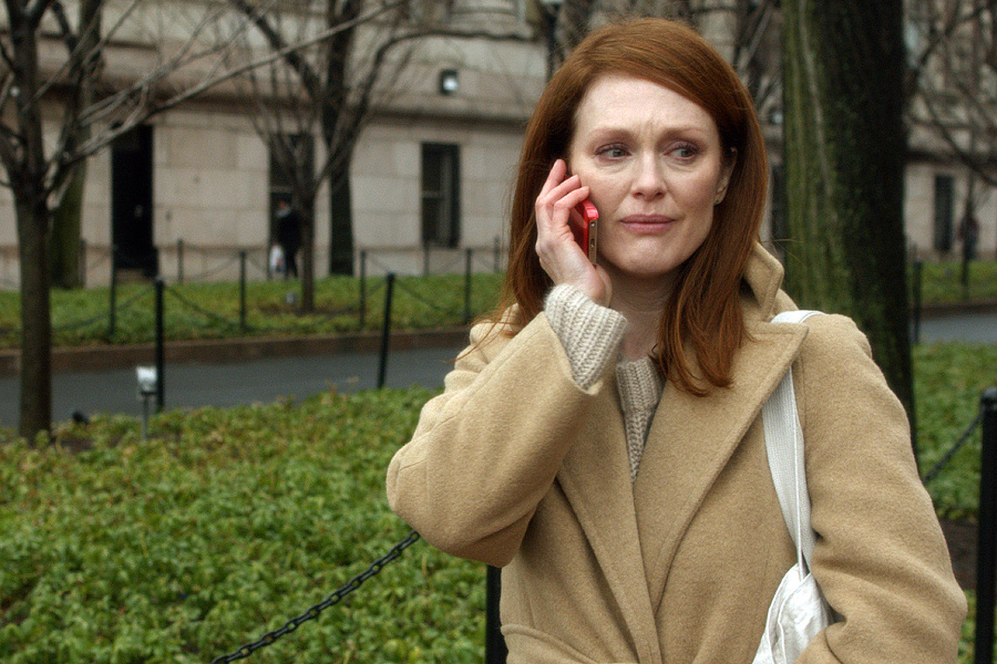 Julianne Moore as Alice in the movie STILL ALICE, directed by Richard Glatzer. Photo Credit: Denis Lenoir